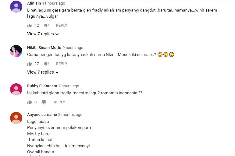 Lihat Youtube Mutia Ayu, Netizen : Glenn Kenapa Seleranya Gini?