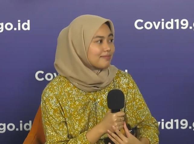 Bisnis Nadhifa Menuai Sukses, Jeli Melihat Peluang Saat Pandemi. Foto: BNPB