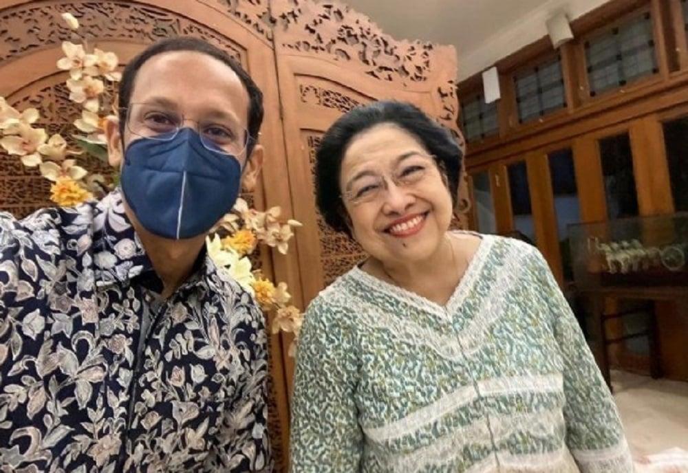 Manuver Maut Nadiem Makarim Bikin Megawati Tersenyum Lebar