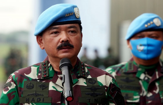 Pernyataan Panglima TNI Hadi Tjahjanto Bikin Kaget, Beber Ini...(Foto: JPNN.com/GenPI.co)