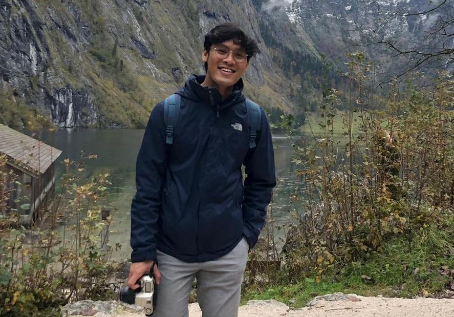 Rangga, mahasiswa Indonesia di Jerman. Foto: Dokumentasi pribadi Rangga