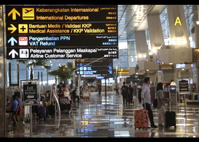 Suasana Bandara Soekarno-Hatta. Foto: Antara