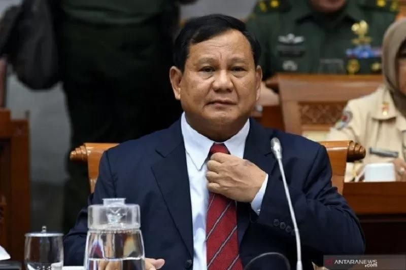 Menhan Prabowo Subianto. Foto: Antara