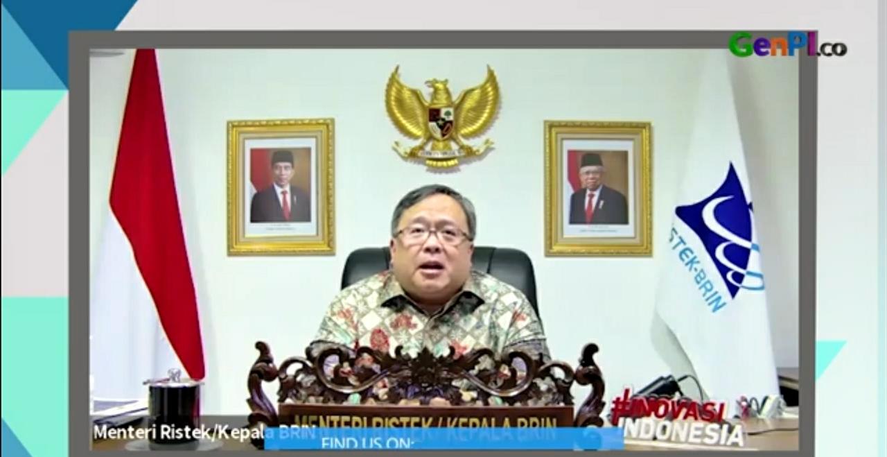 Menteri Riset dan Teknologi (Menristek) dan Kepala BRIN Bambang Brodjonegoro. Foto: GenPI.co
