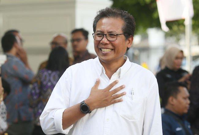 Fadjroel Rachman, Staf Khusus Presiden Bidang Komunikasi. Foto: JPNN.com