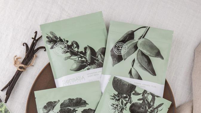 Sheet Mask Sensatia Botanicals. Foto: PR Sensatia Botanicals