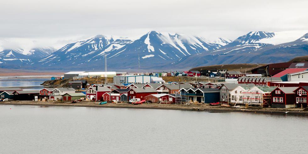 Ilustrasi Kota Longyearbyen. Foto: Pinterest