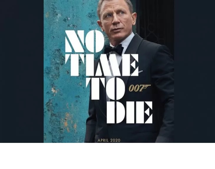 "Tangkapan layar poster ""No Time to Die"", seri ke-25 dari waralaba film James Bond. (Twitter James Bond @007)"