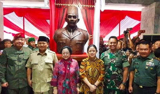 Menhan Prabowo Puji Jenderal Andika Perkasa Setinggi Langit (Foto: instagram prabowo)