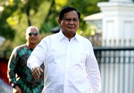 Ketua Umum Gerindra Prabowo Subianto. (Foto: Ricardo/JPNN.com)