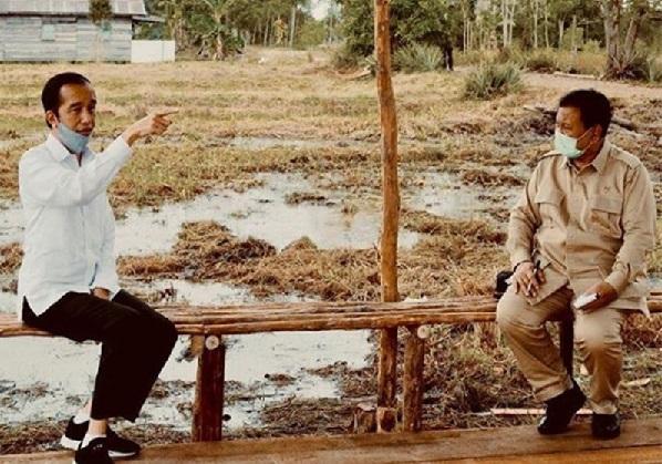 Presiden Jokowi bersama Prabowo Subianto (Foto: Instagram Prabowo)