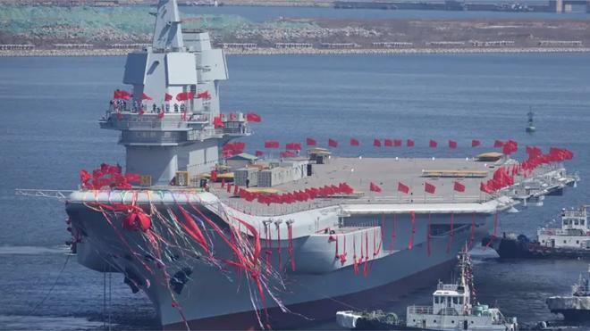 Kapal induk Shandong. Foto: reuters