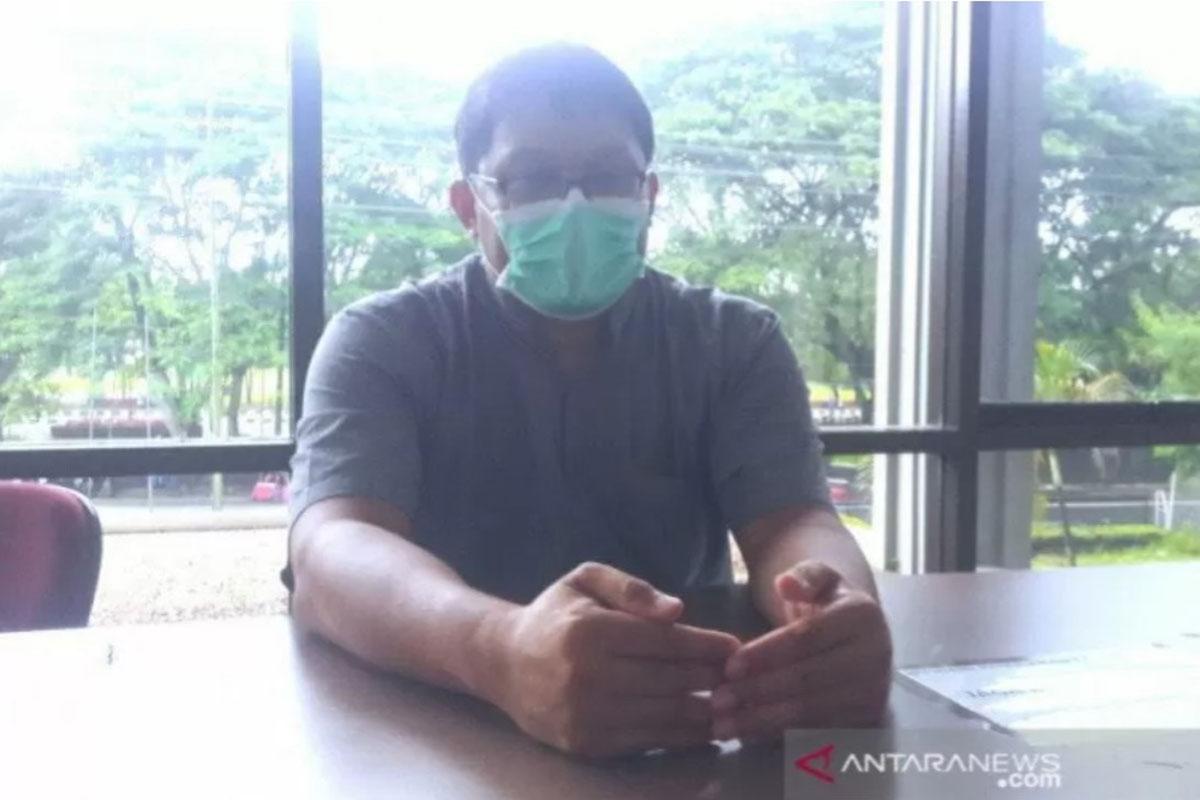 Pakar epidemiologi Universitas Gadjah Mada dr. Riris Andono Ahmad.