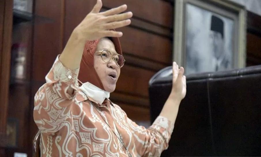 Mensos Tri Rismaharini. ANTARA/HO-Humas Pemkot Surabaya/am.