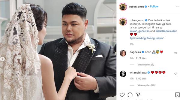 Keren Banget! Foto Prewedding Ivan Gunawan dan Bella Aprilia