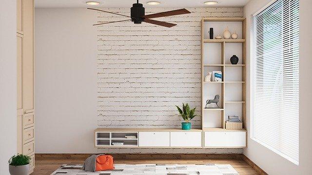Ilustrasi kipas angin di dalam ruangan. Foto: Pixabay