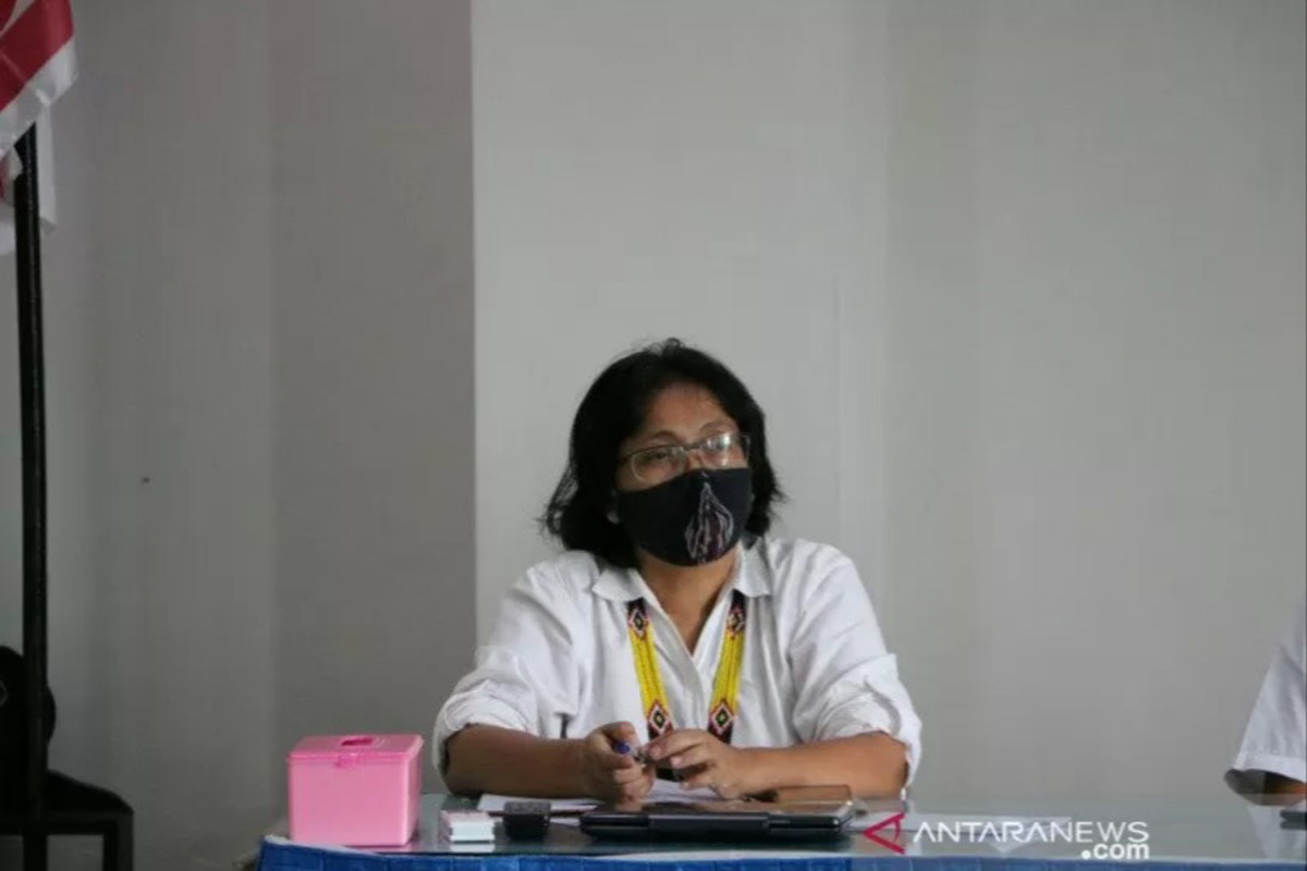 Juru Bicara Gugus Tugas Percepatan Penanganan COVID-19 Kulon Progo Baning Rahayujati. (FOTO: ANTARA)