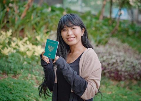 Penuh Kreativitas, Gadis Cantik Ini Bisa Keliling Dunia Gratis. Foto: instagram/satyawinnie