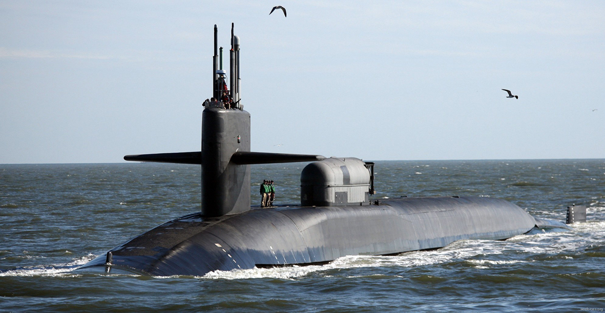 USS Georgiaa. Foto: seaforces