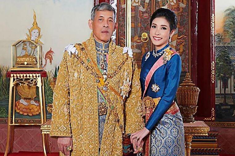 Sineenat Wongvajirpakdi dan Raja Thailand. Foto: glbnews