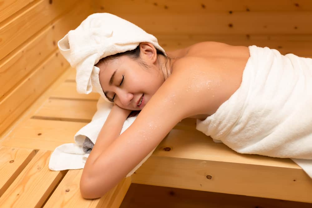 Ilustrasi sauna. Foto: Shutterstock