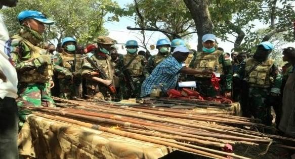 Misi Senyap Prajurit TNI Sukses Taklukkan Milisi di Kongo (Foto: tni.mil.id)