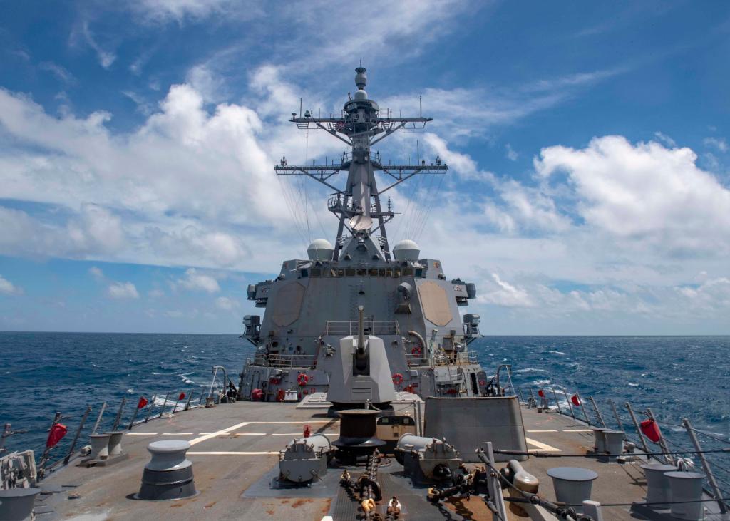 USS Mustin (DDG-89). Foto: US Navy Photo