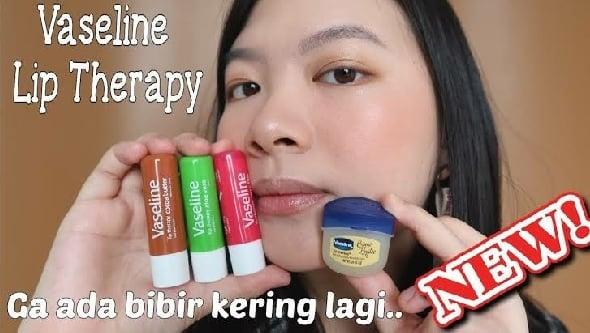Vaseline Lip Therapy, Bikin Bibir Antikering dan Pecah-pecah