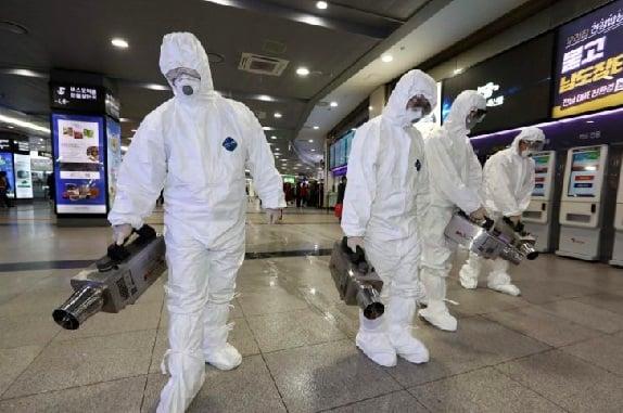 Wabah virus corona yang menghantui Wuhan China. (Foto: AFP)