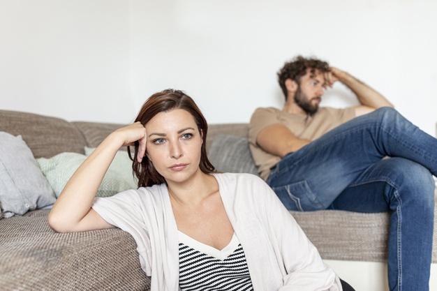 Ilustrasi pasangan bertengkar. Foto: Freepik