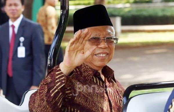 Wakil Presiden Ma'ruf Amin. (Foto: Ricardo/JPNN)