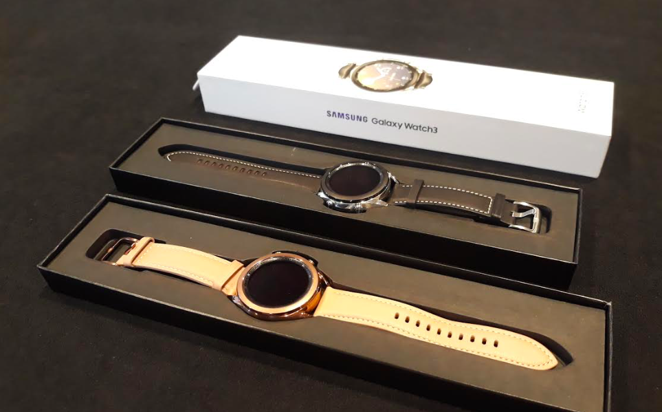 Samsung Galaxy Watch 3 dengan leather strap. Foto: Samsung