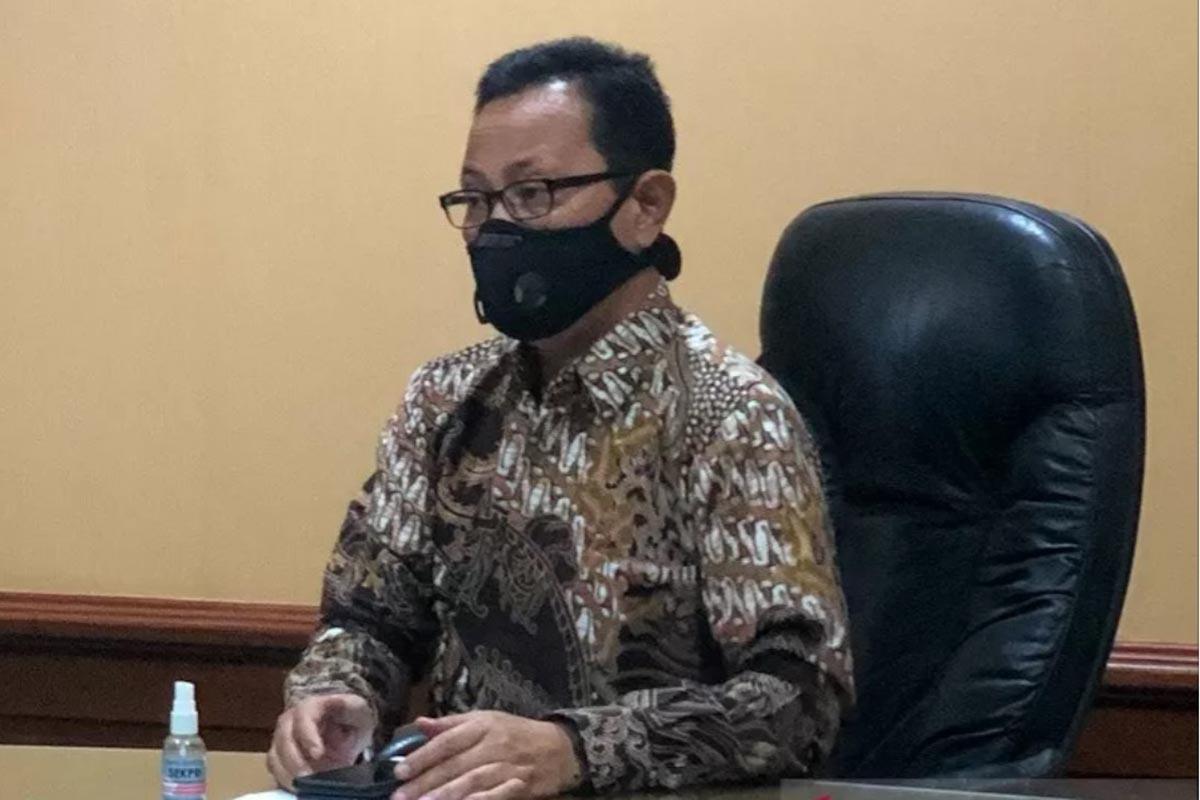 Ketua Harian Satuan Tugas Penanganan Covid-19 Yogyakarta Heroe Poerwadi.(FOTO: ANTARA)