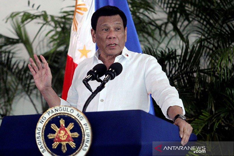 Kapal Filipina di LCS Diusir, Duterte ke China: Saya Tidak Mundur