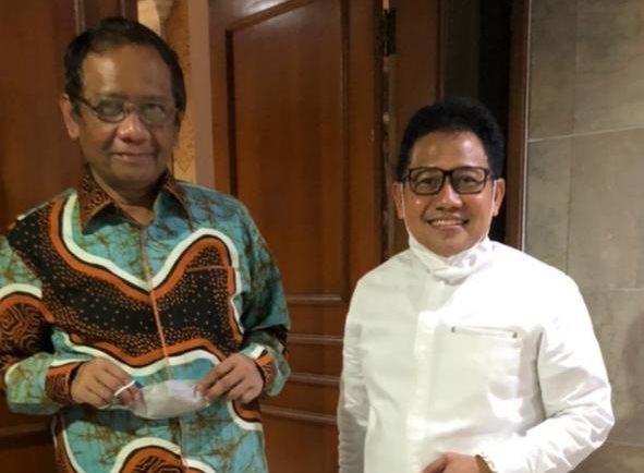 Manuver Maut Muhaimin Iskandar, Silaturahmi dengan Mahfud MD