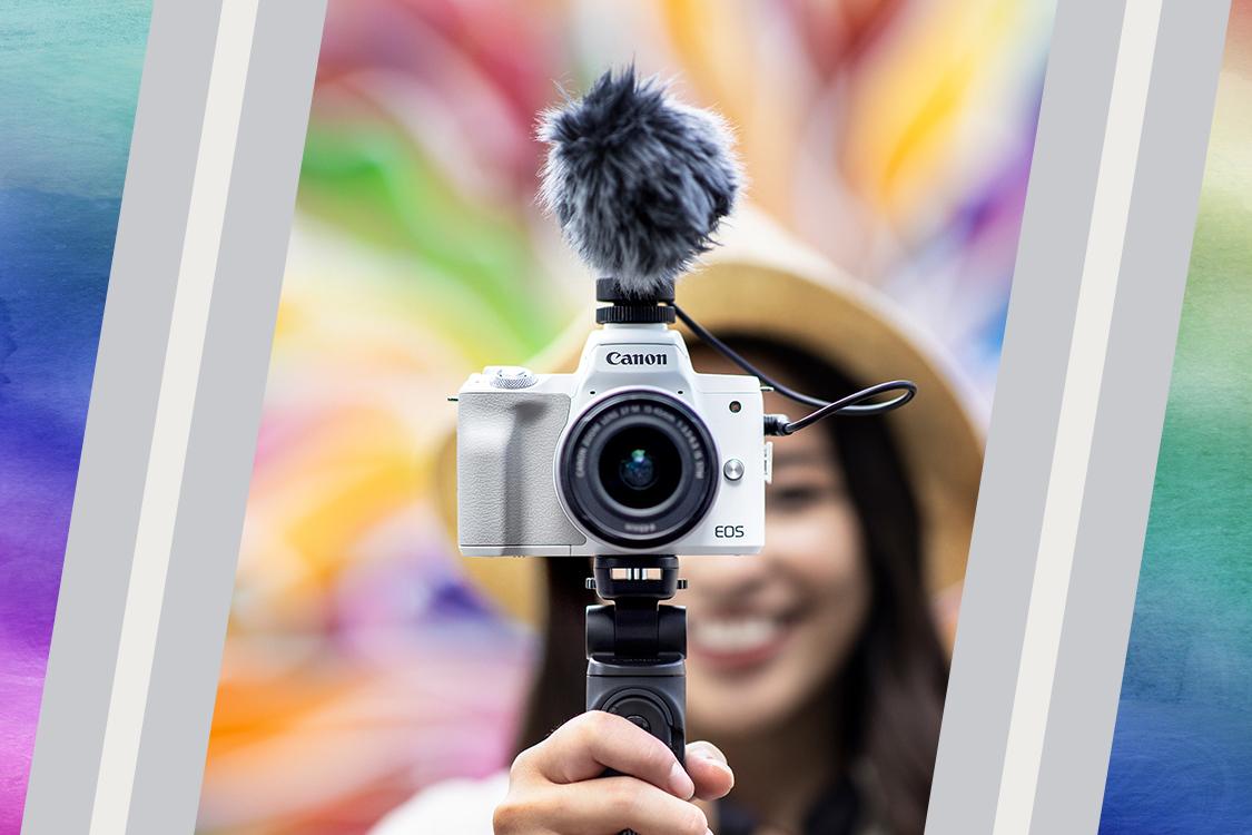 Canon EOS M50 Mark II. Foto: Humas pt Datascrip