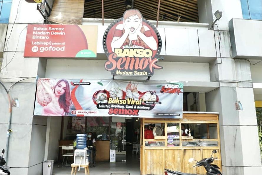 Bakso Semox di Bintaro, Tangerang. Foto: Annissa Nur Jannah/GenPI.co