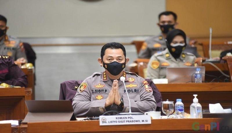 Kapolri Listyo Sigit Prabowo. Foto: GenPI.co