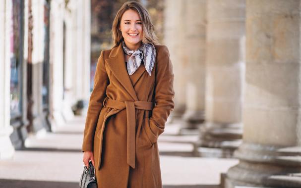 Tampil cantik dengan coat. Foto: Freepik