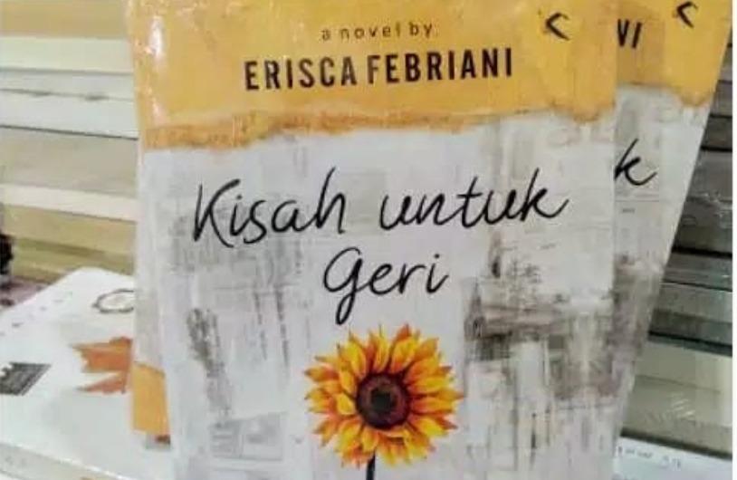 Novel Kisah Untuk Geri. Foto: Instagram/@bukuku.solo