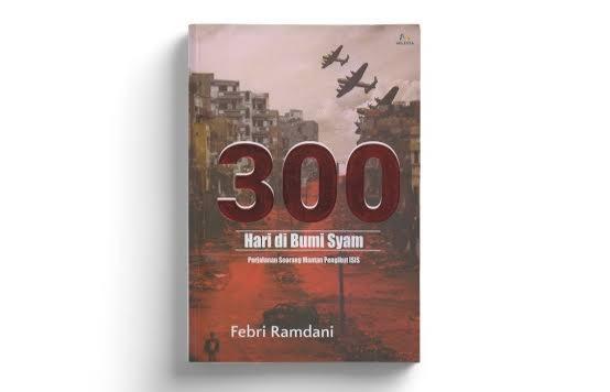 Buku 300 Hari di Bumi Syam. Foto: Shopee
