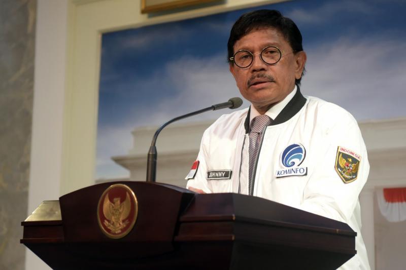 Menteri Komunikasi dan Informatika Johnny G Plate. Foto: Kementerian Kominfo
