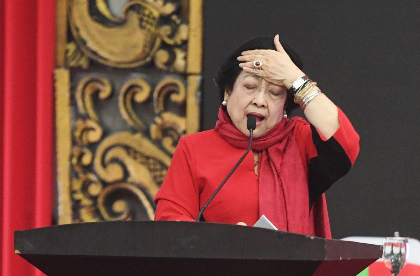 Ketum PDIP, Megawati Soekarnoputri. Foto: ANTARA/Akbar Nugroho