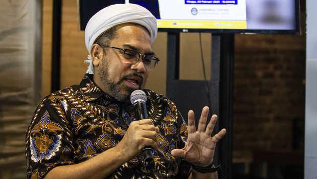 Ali Mochtar Ngabalin. ANTARA FOTO/Dhemas Reviyanto