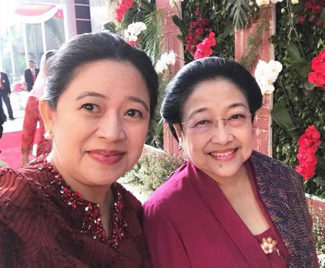 Puan Maharani bersama Megawati Soekarnoputri. Foto: Instagram/@puanmaharani
