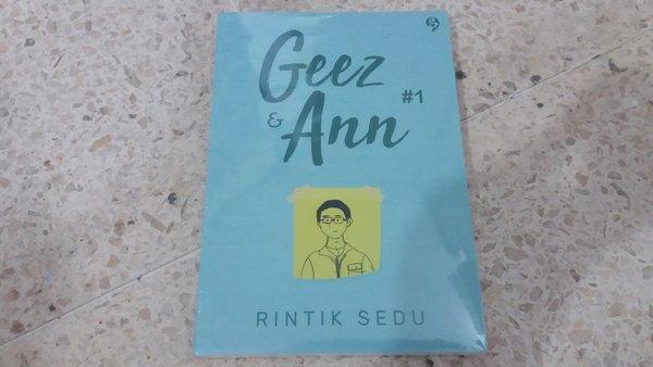 Novel Geez & Ann #1. Foto: Bukalapak