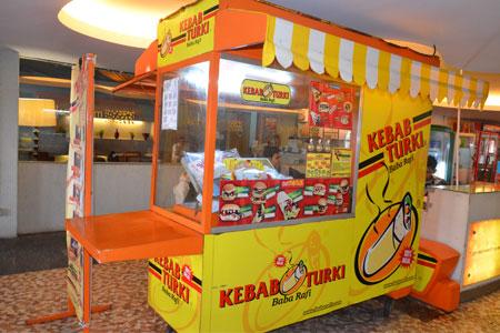Kebab Turki Baba Rafi. Foto: Mallkelapagading.com