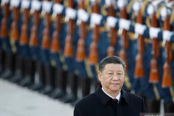Presiden China Xi Jinping . (REUTERS/JASON LEE)