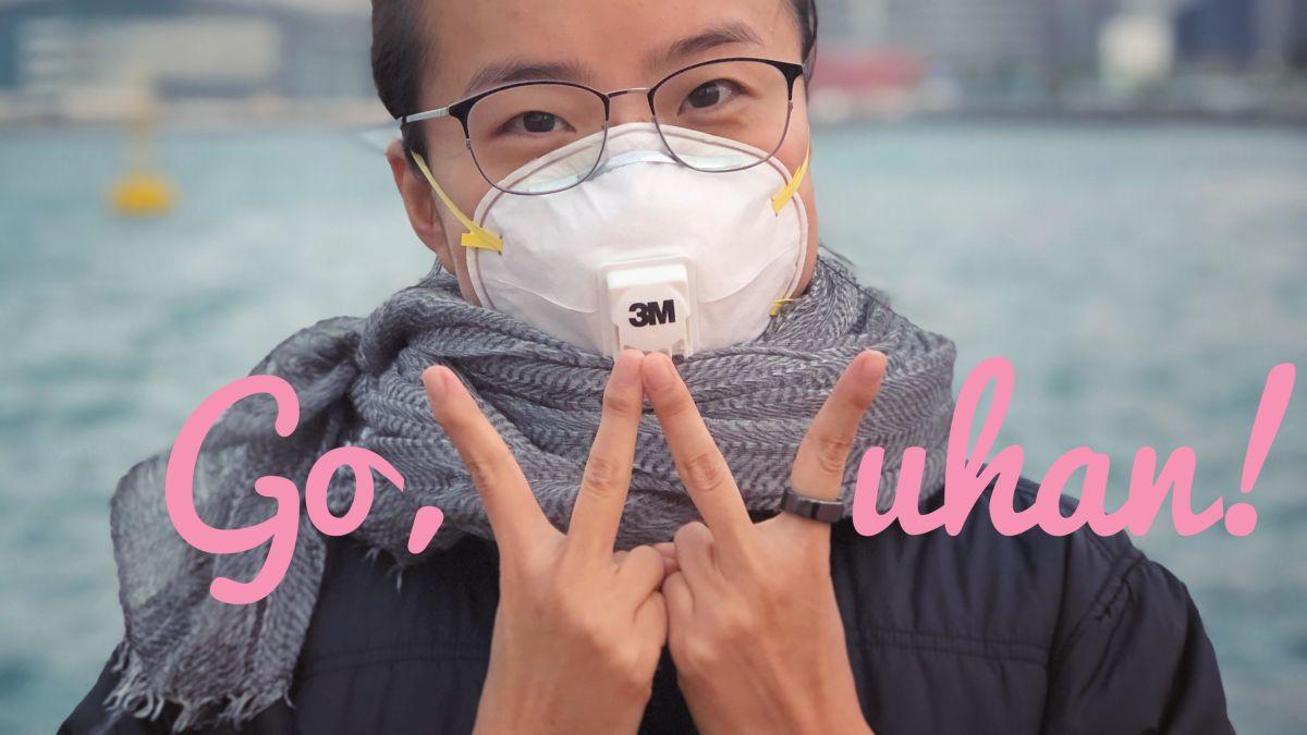 Yuli Yang, warga Wuhan yang tinggal di Hong Kong. Foto: YouTube
