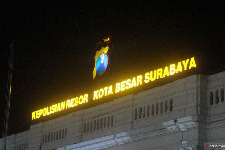 Markas Polrestabes Surabaya di Jalan Sikatan 1 Surabaya. (ANTARA Jatim/Hanif Nashrullah)